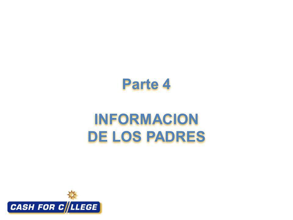 Parte 4 INFORMACION DE LOS PADRES