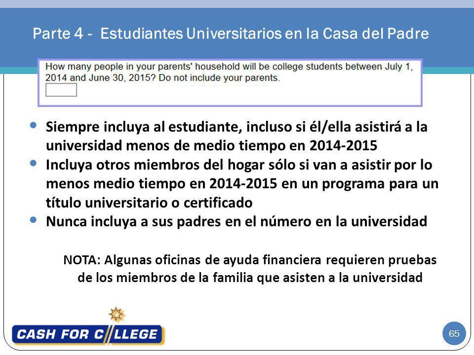Parte 4 - Estudiantes Universitarios en la Casa del Padre