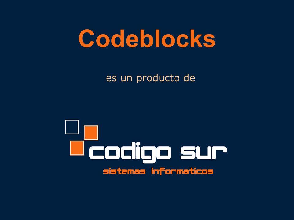 Codeblocks es un producto de