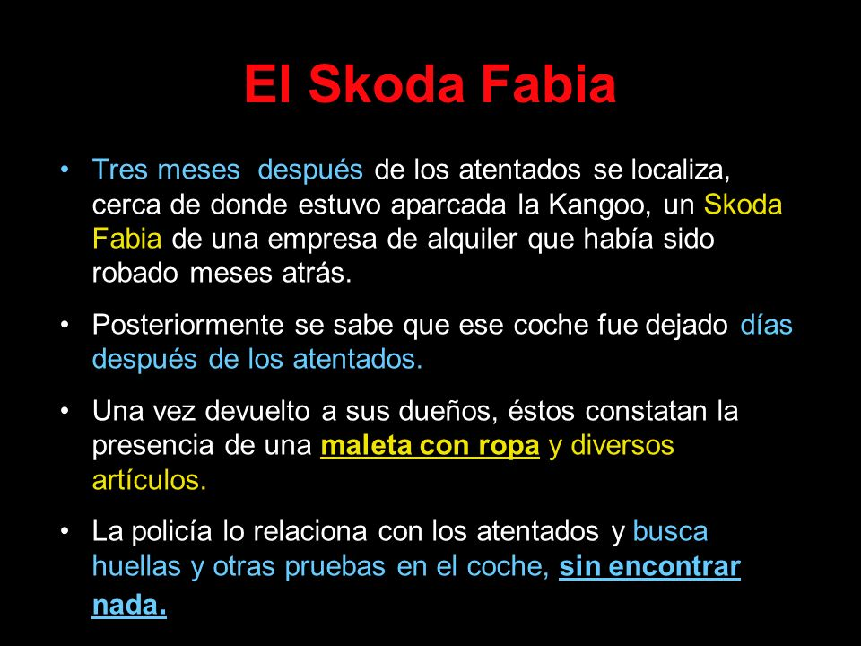 El Skoda Fabia