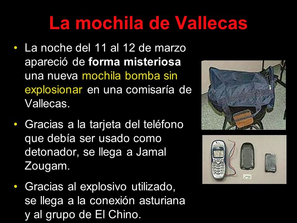 La mochila de Vallecas