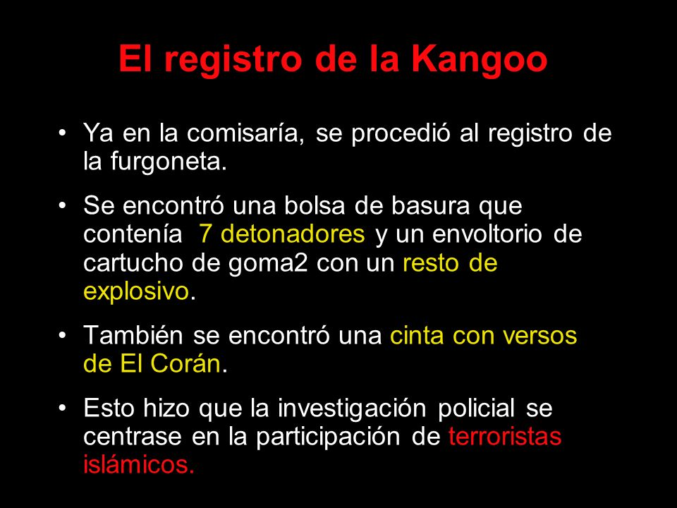 El registro de la Kangoo