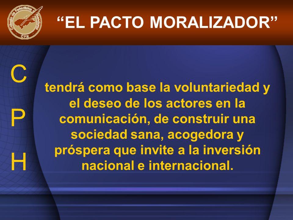 EL PACTO MORALIZADOR