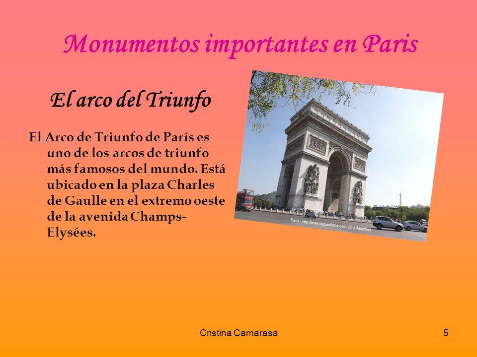 Monumentos importantes en Paris