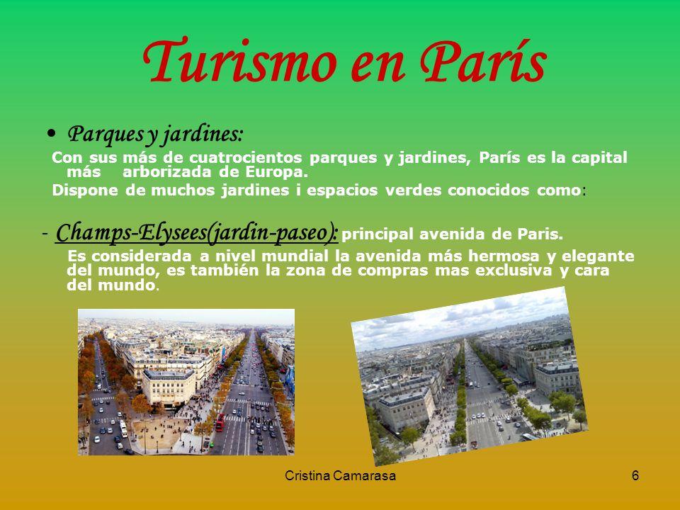 Turismo en París Parques y jardines: