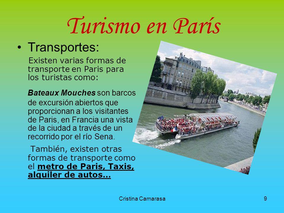 Turismo en París Transportes: