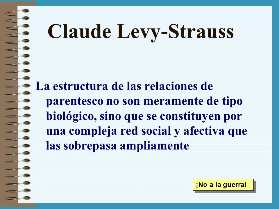 Claude Levy-Strauss
