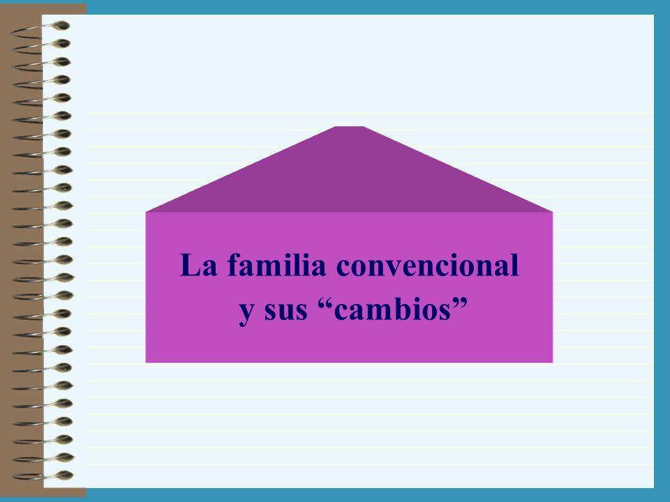 La familia convencional