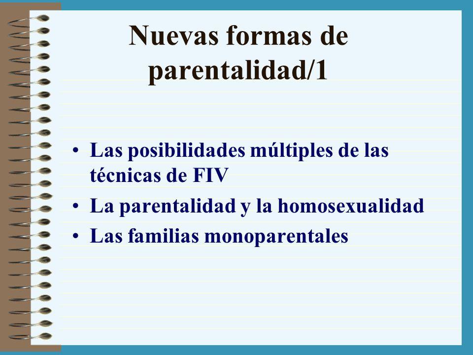 Nuevas formas de parentalidad/1