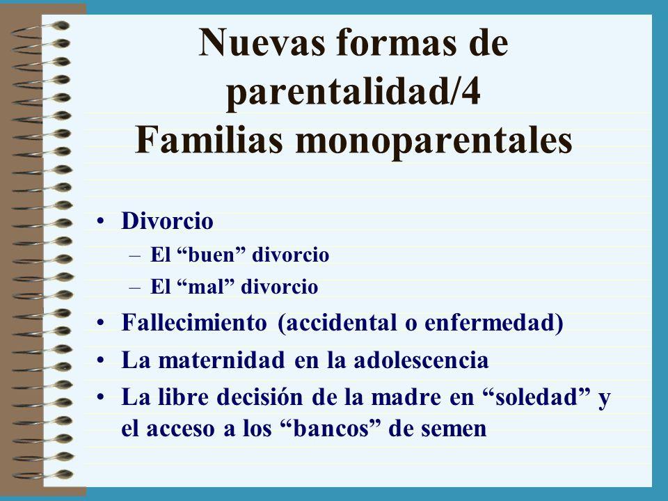 Nuevas formas de parentalidad/4 Familias monoparentales