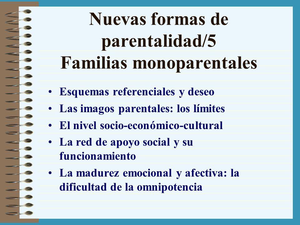 Nuevas formas de parentalidad/5 Familias monoparentales