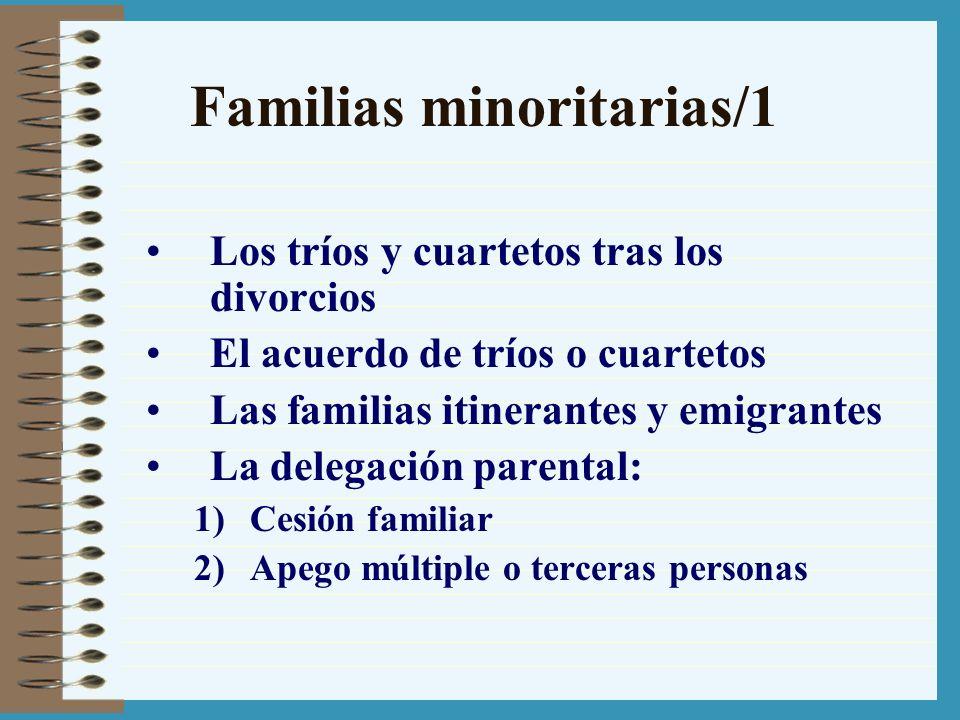 Familias minoritarias/1