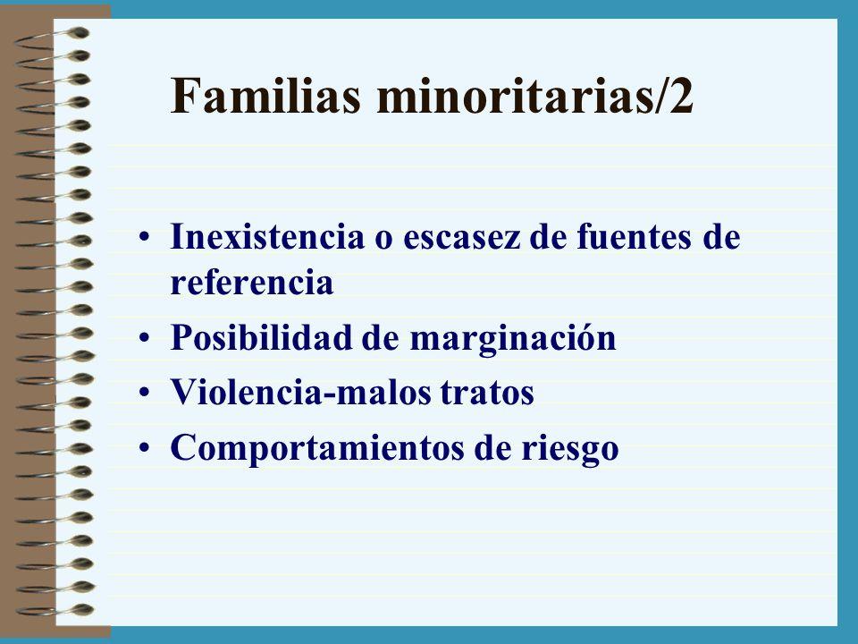 Familias minoritarias/2