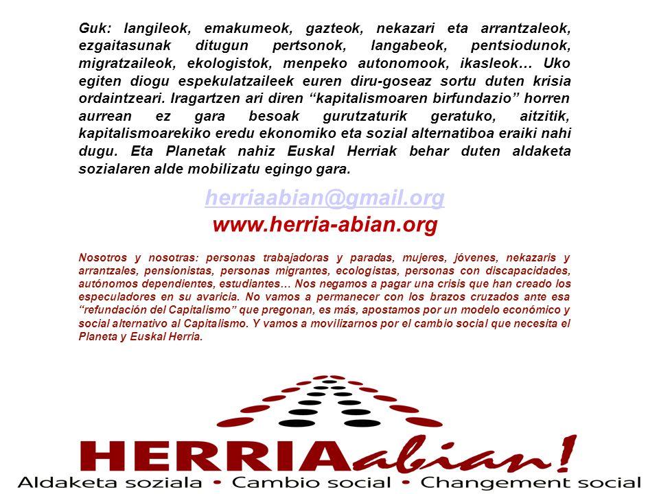 herriaabian@gmail.org www.herria-abian.org