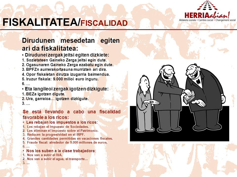 FISKALITATEA/FISCALIDAD