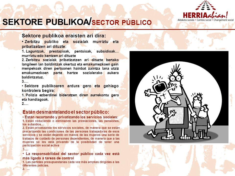 SEKTORE PUBLIKOA/SECTOR PÚBLICO
