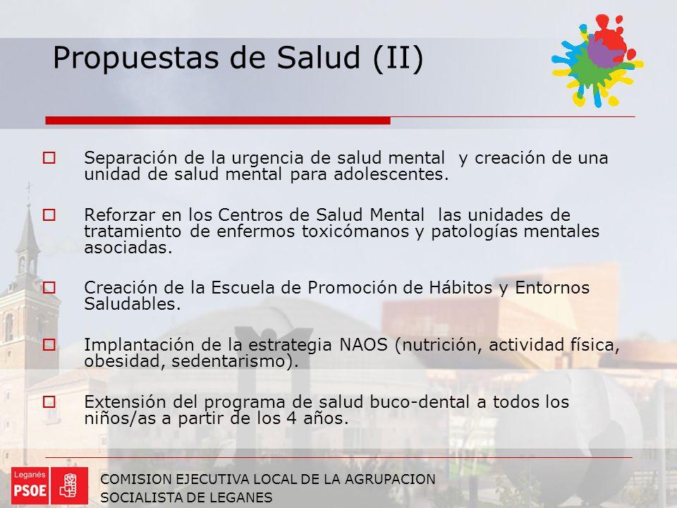 Propuestas de Salud (II)