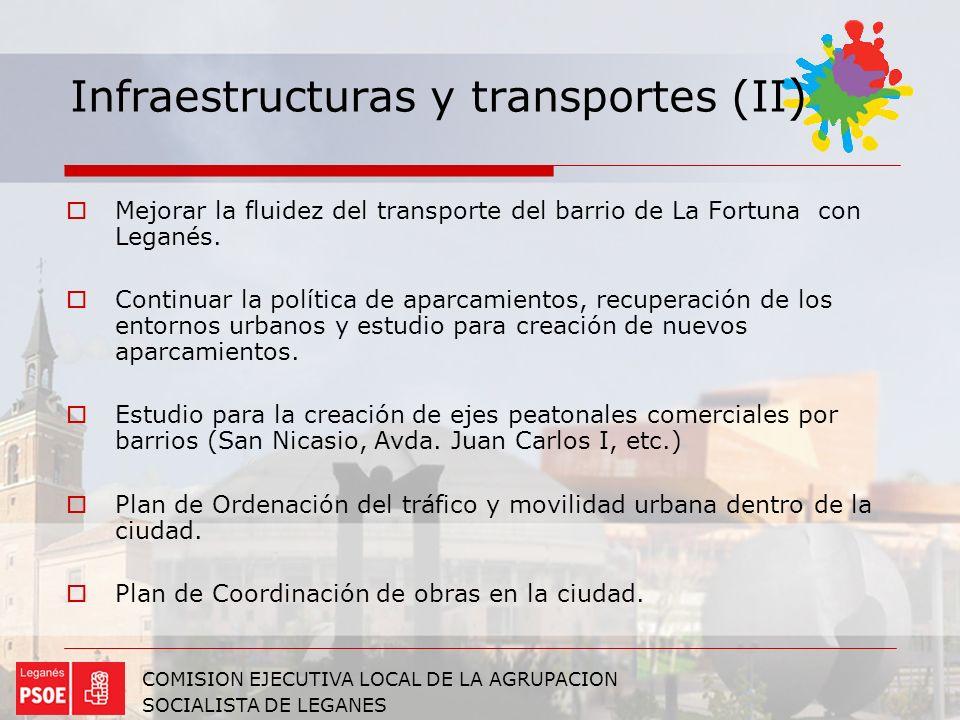 Infraestructuras y transportes (II)