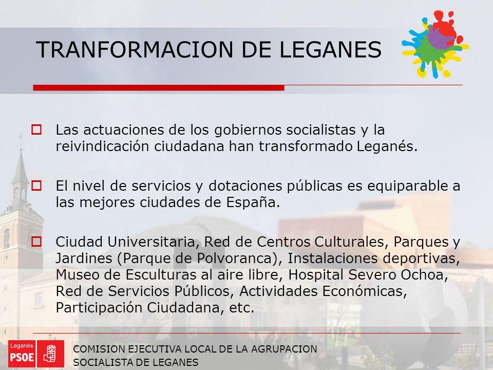 TRANFORMACION DE LEGANES