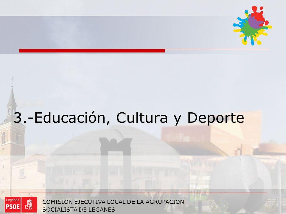3.-Educación, Cultura y Deporte