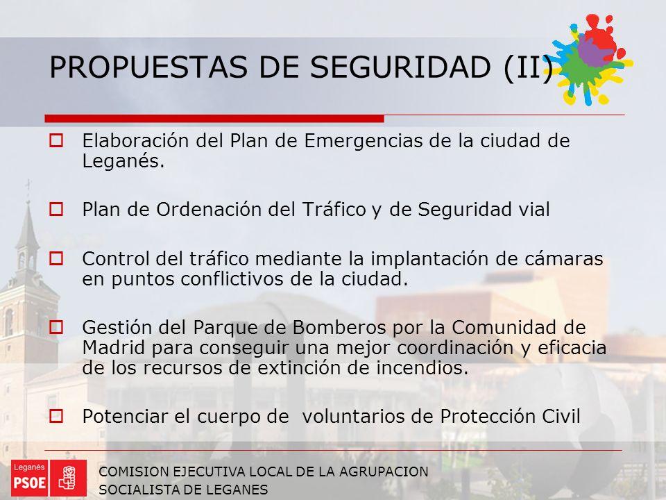 PROPUESTAS DE SEGURIDAD (II)