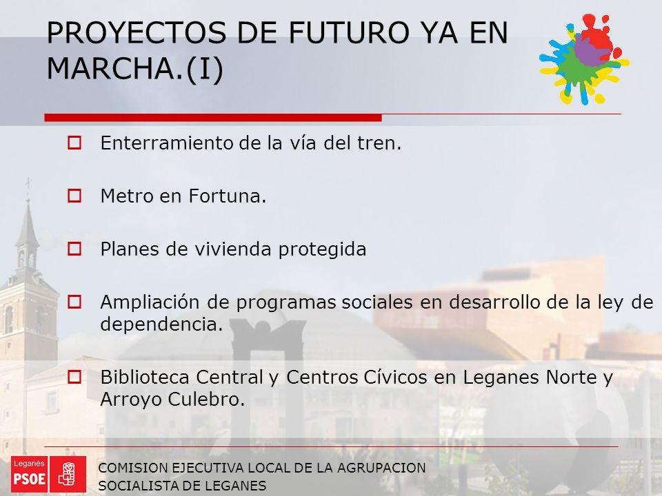 PROYECTOS DE FUTURO YA EN MARCHA.(I)