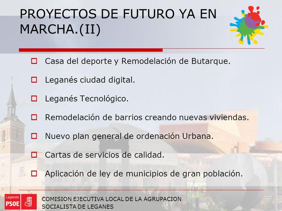 PROYECTOS DE FUTURO YA EN MARCHA.(II)