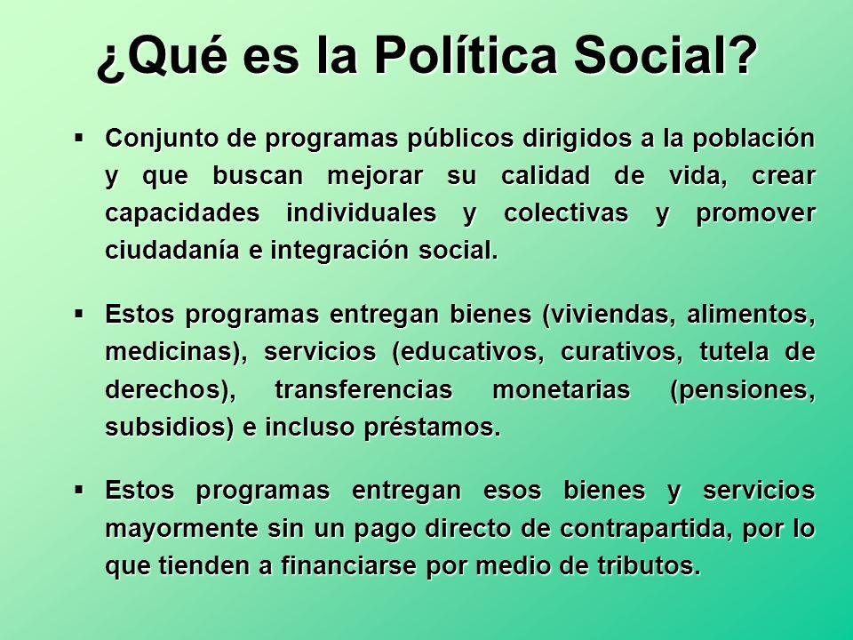 ¿Qué es la Política Social