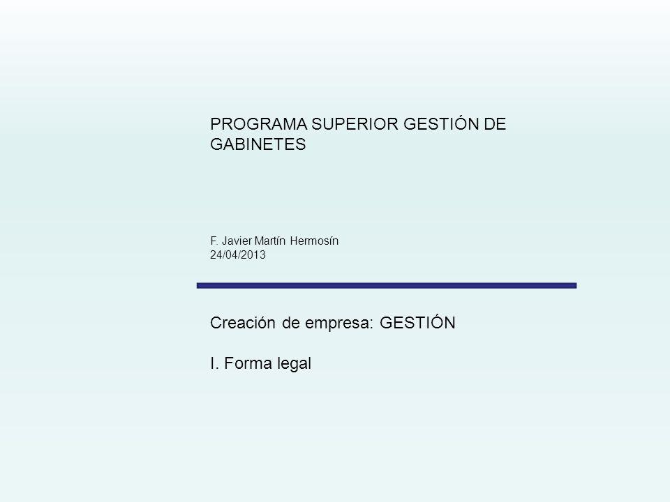 PROGRAMA SUPERIOR GESTIÓN DE GABINETES