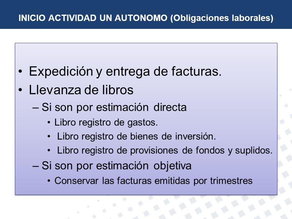 INICIO ACTIVIDAD UN AUTONOMO (Obligaciones laborales)
