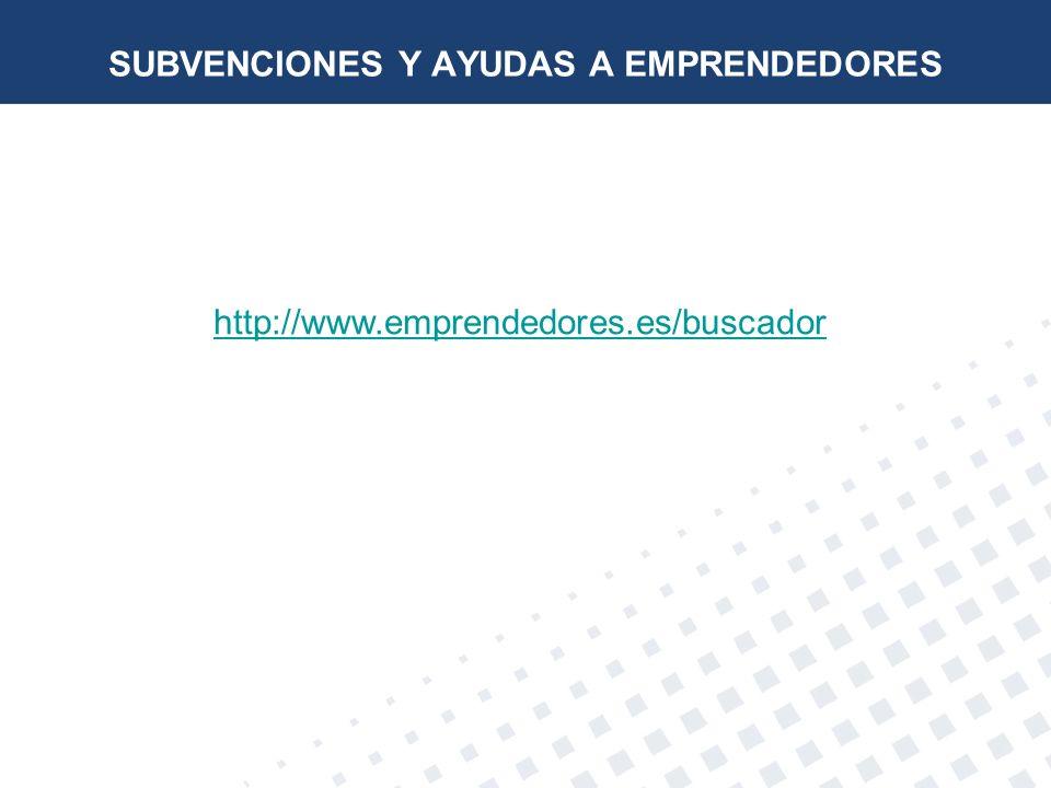 SUBVENCIONES Y AYUDAS A EMPRENDEDORES