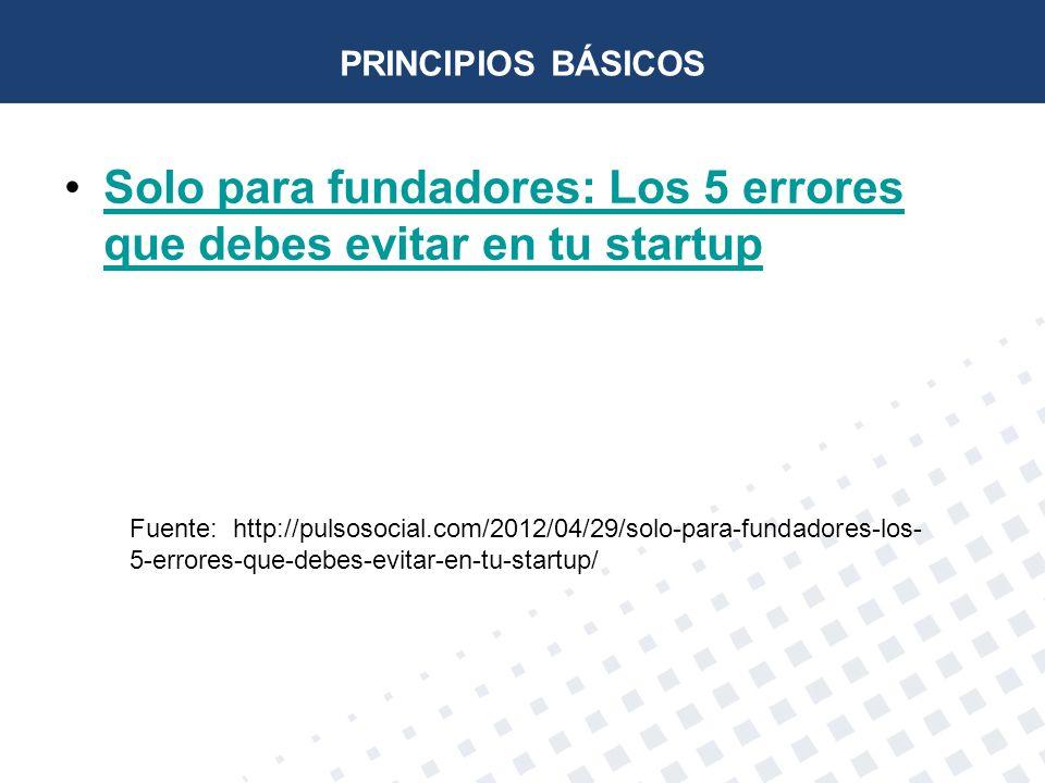 Solo para fundadores: Los 5 errores que debes evitar en tu startup