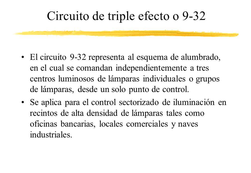 Circuito de triple efecto o 9-32