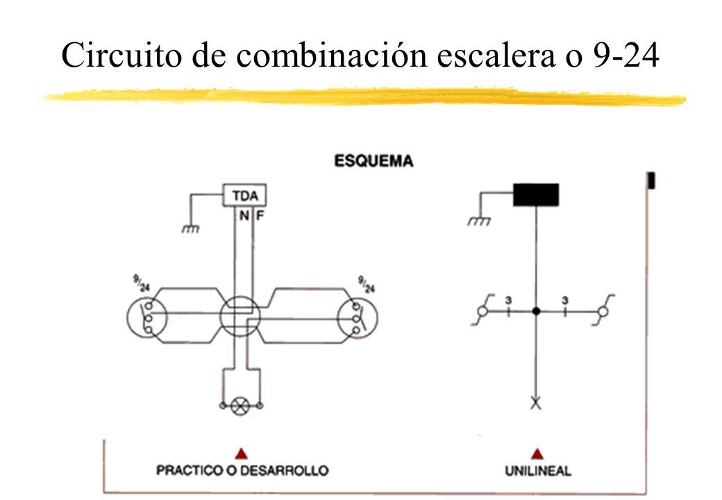Circuito de combinación escalera o 9-24
