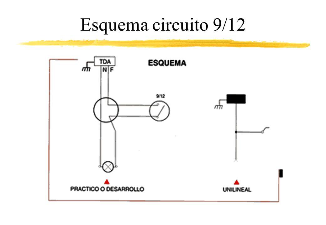 Esquema circuito 9/12