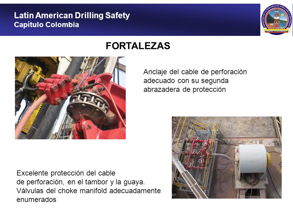 FORTALEZAS Latin American Drilling Safety Capítulo Colombia