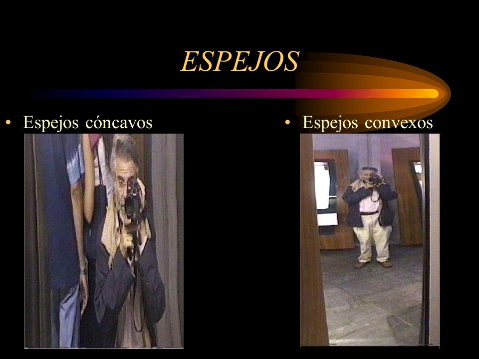 ESPEJOS Espejos cóncavos Espejos convexos