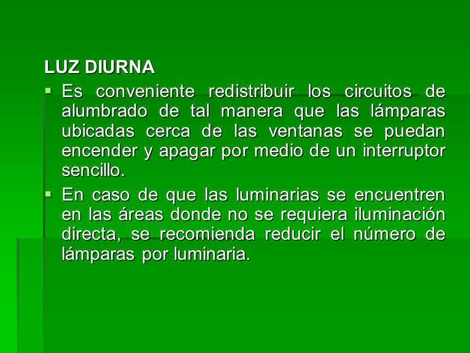 LUZ DIURNA