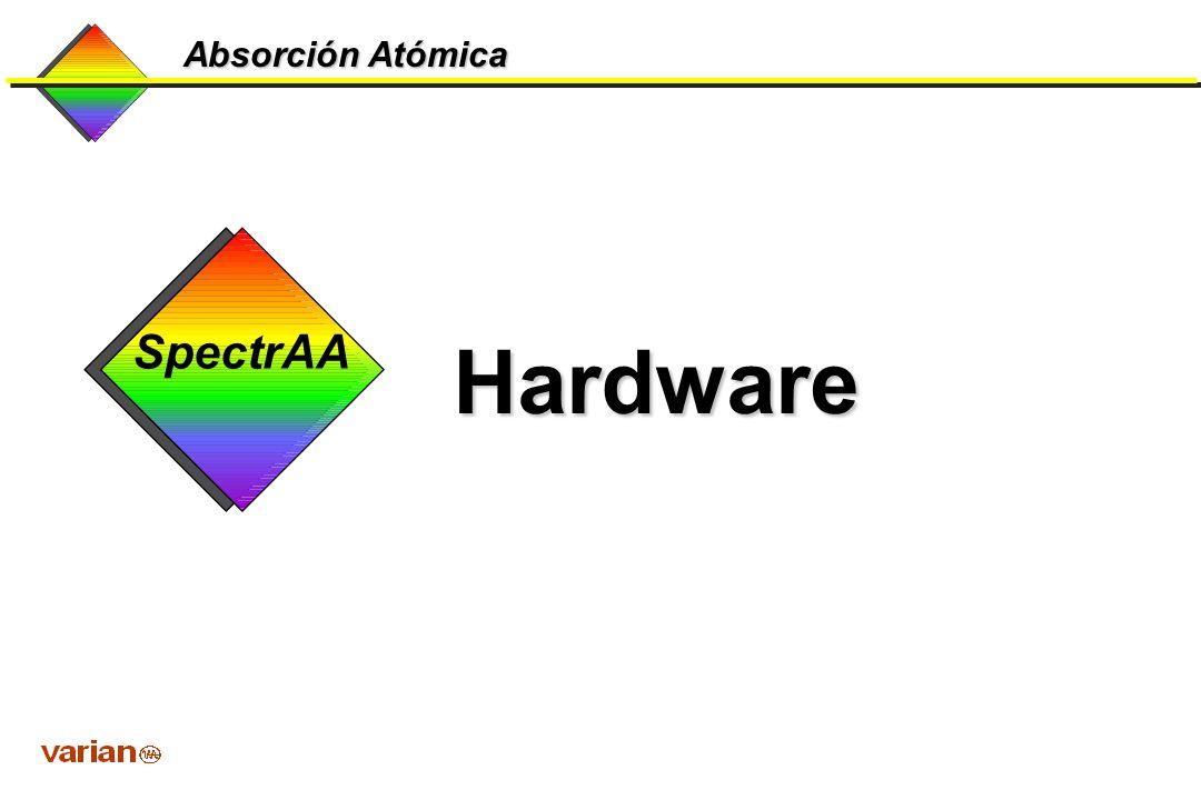 Absorción Atómica Hardware SpectrAA