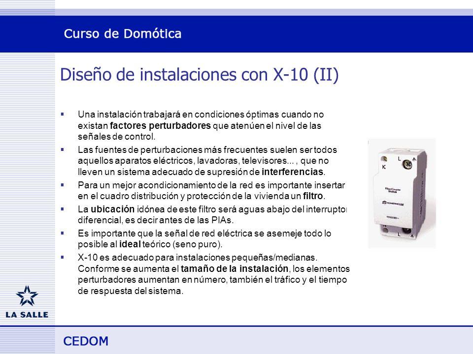 Diseño de instalaciones con X-10 (II)