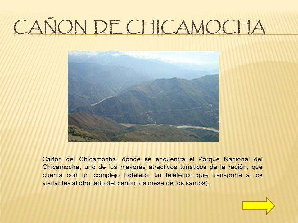 CAÑON DE CHICAMOCHA
