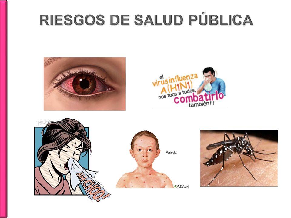 RIESGOS DE SALUD PÚBLICA