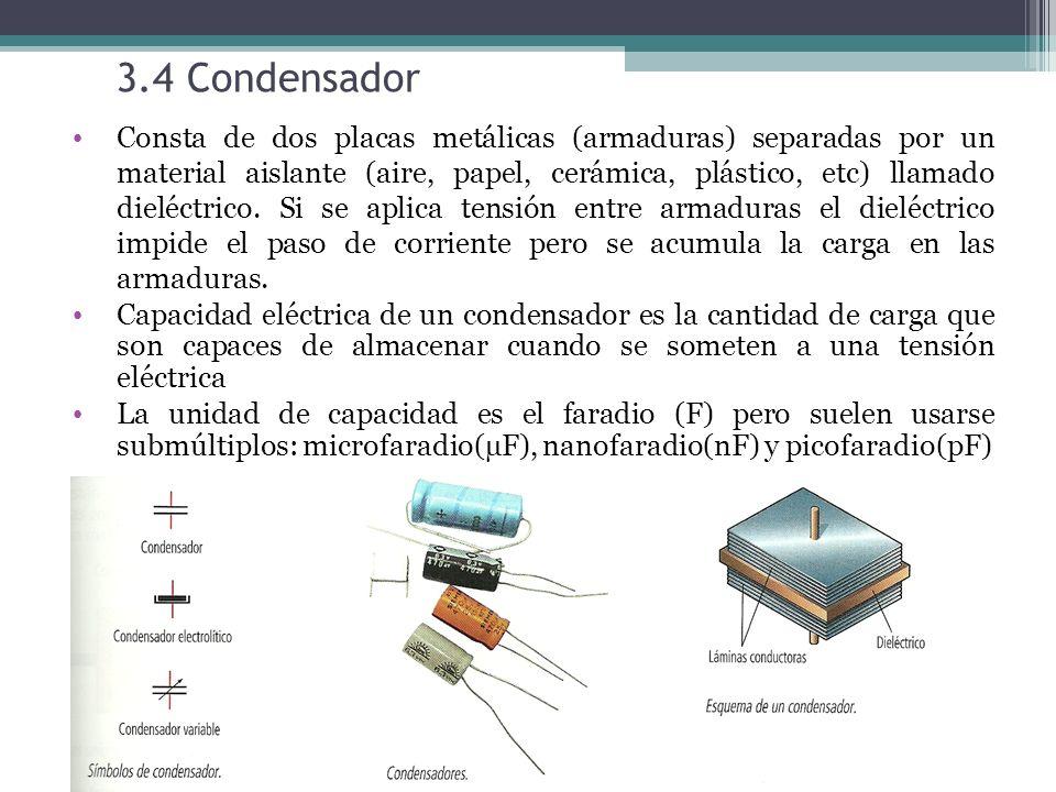 3.4 Condensador