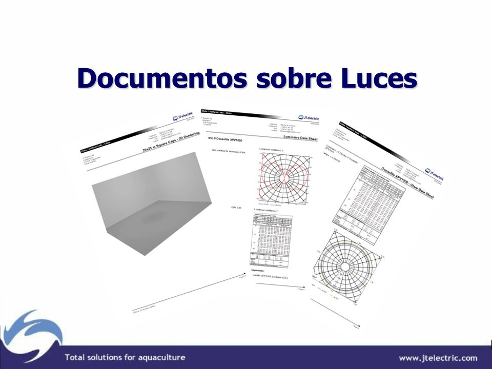 Documentos sobre Luces