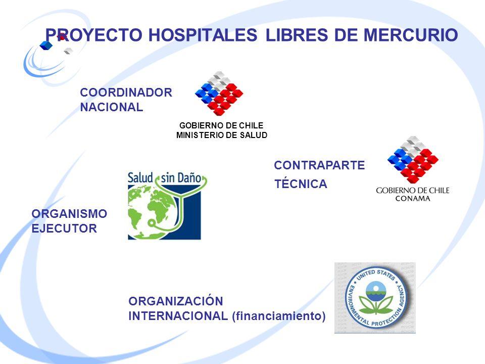 PROYECTO HOSPITALES LIBRES DE MERCURIO
