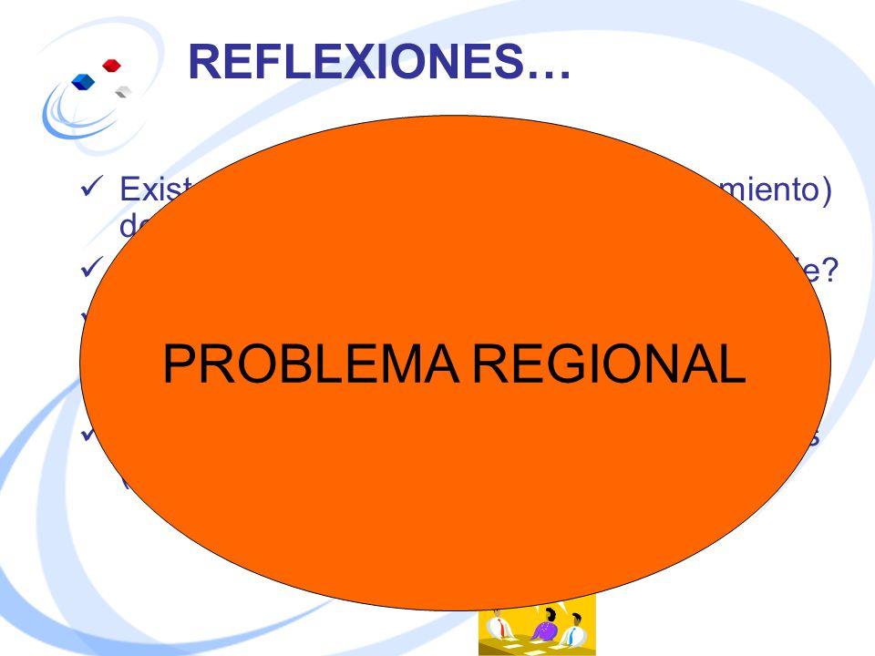 PROBLEMA REGIONAL REFLEXIONES…