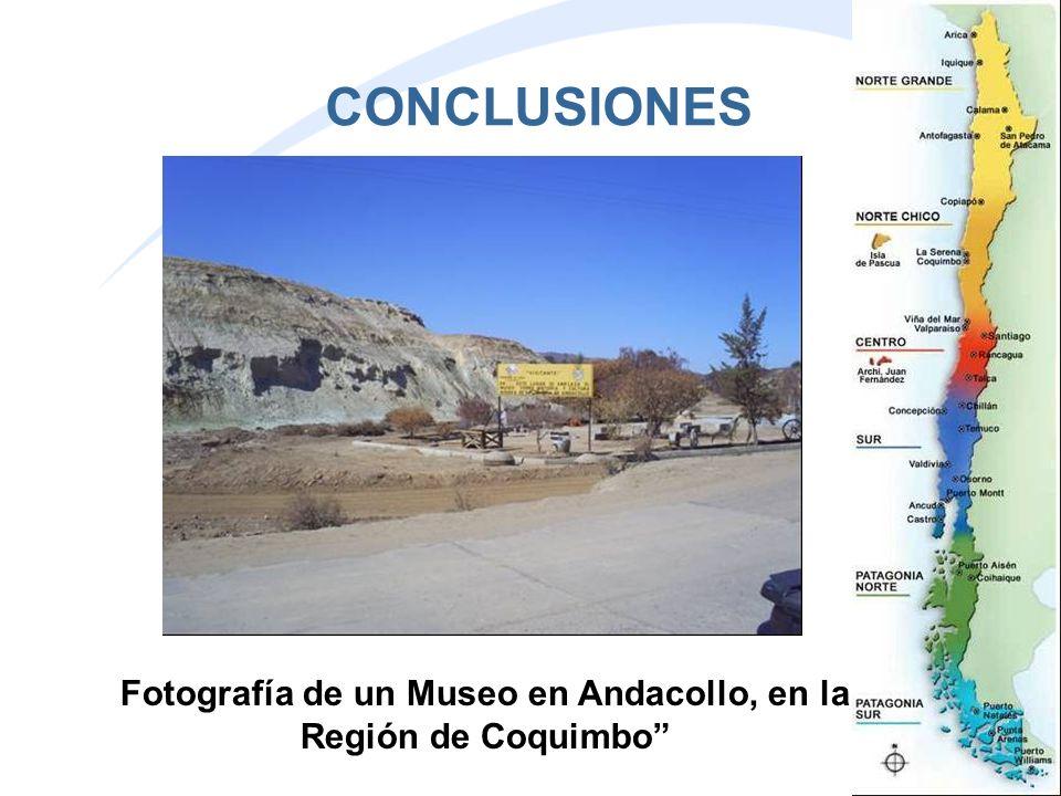 Fotografía de un Museo en Andacollo, en la Región de Coquimbo