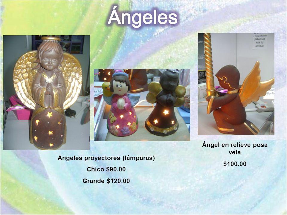 Ángel en relieve posa vela Angeles proyectores (lámparas)
