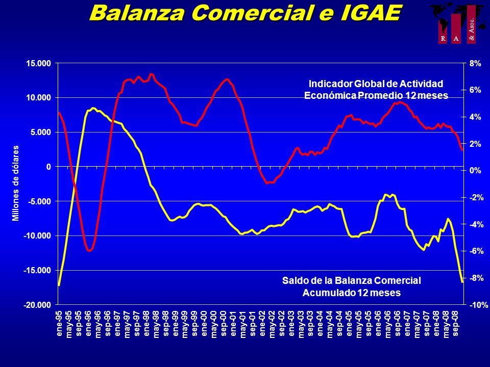 Balanza Comercial e IGAE