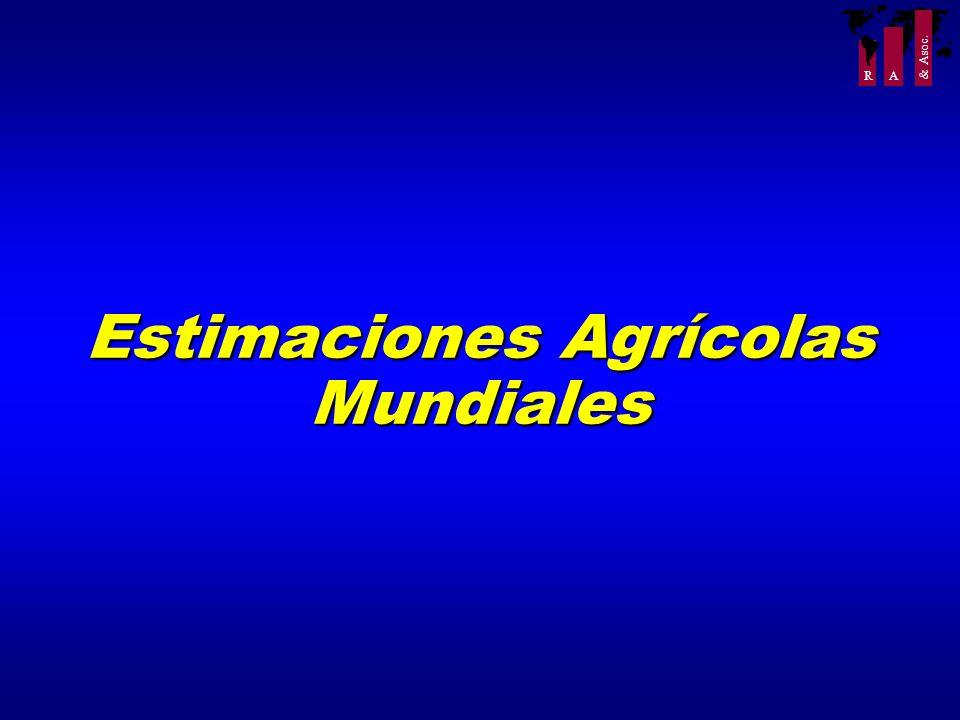 Estimaciones Agrícolas
